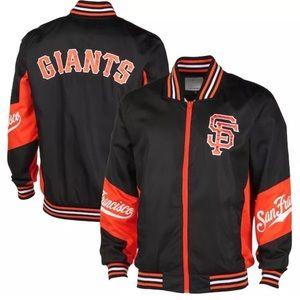 NWT Men's San Francisco Giants Nylon Jacket L